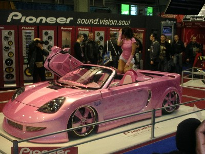 just for girls Pink-car