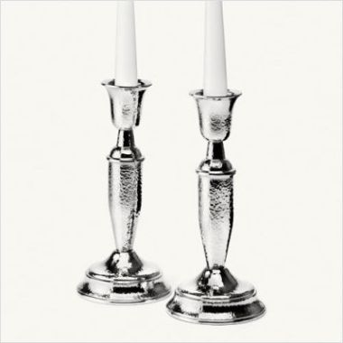 "Patriot+Pewter+8""+Candle+Stick+Pair"